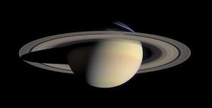 Abbildung zeigt den Planeten Saturn