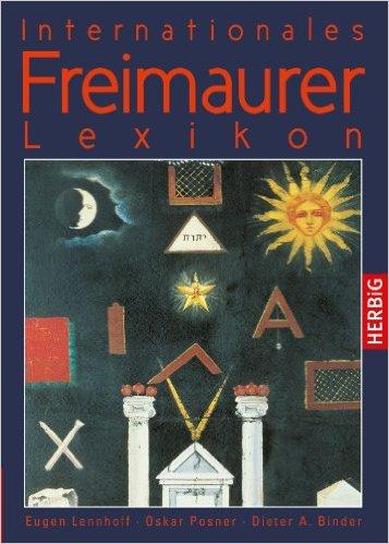 Fronteinband des Freimaurer-Lexikons