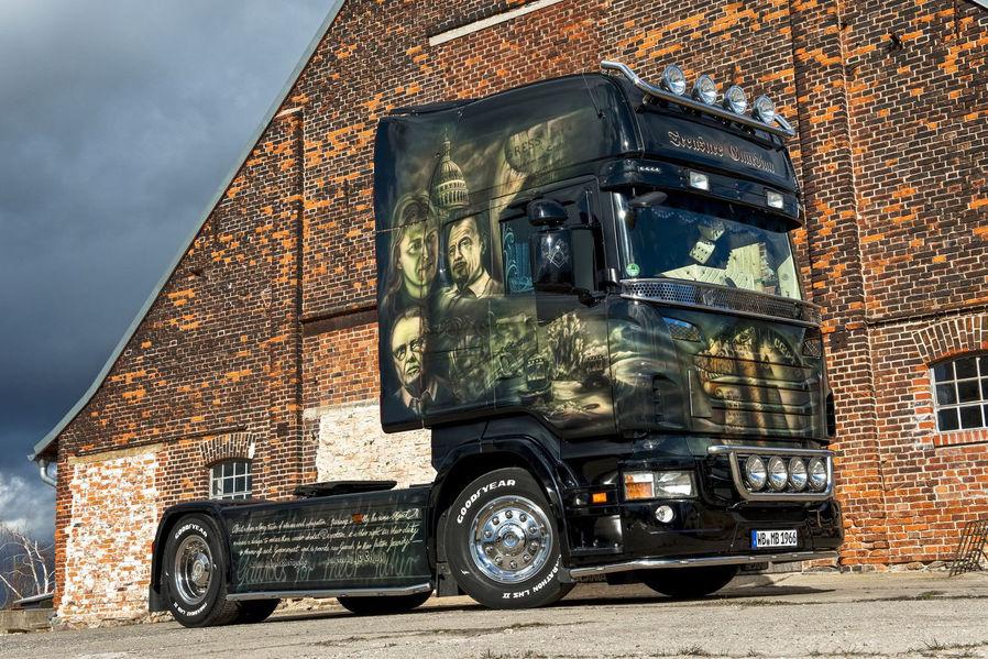 Bild des Lastkraftwagens (Zugmaschine) Scania R 420 Topline