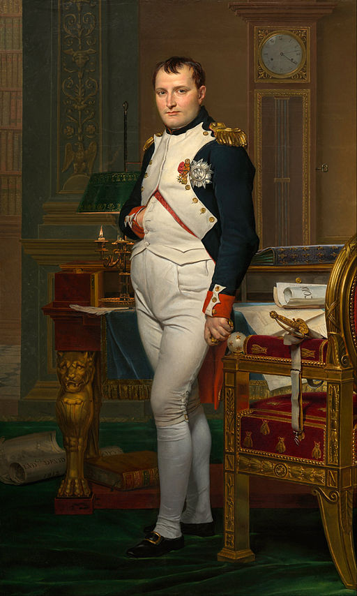 Portrait Napoleon Buonapartes von Jacques-Louis David