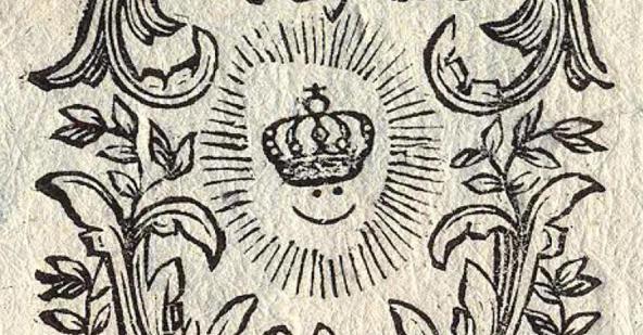 Regensburger Smiley mit Krone aus dem Rokoko