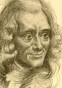 Portrait von Voltaire
