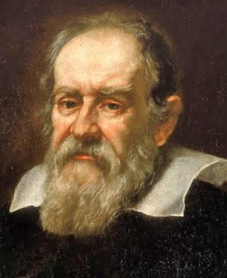 Portrait von Galileo Galilei
