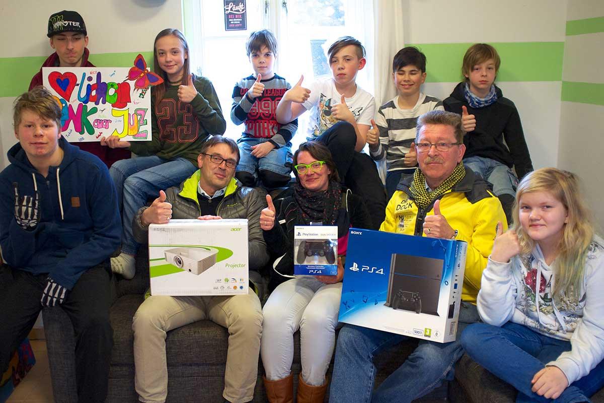 Freimaurer unterstützen das Amrumer Jugendzentrum