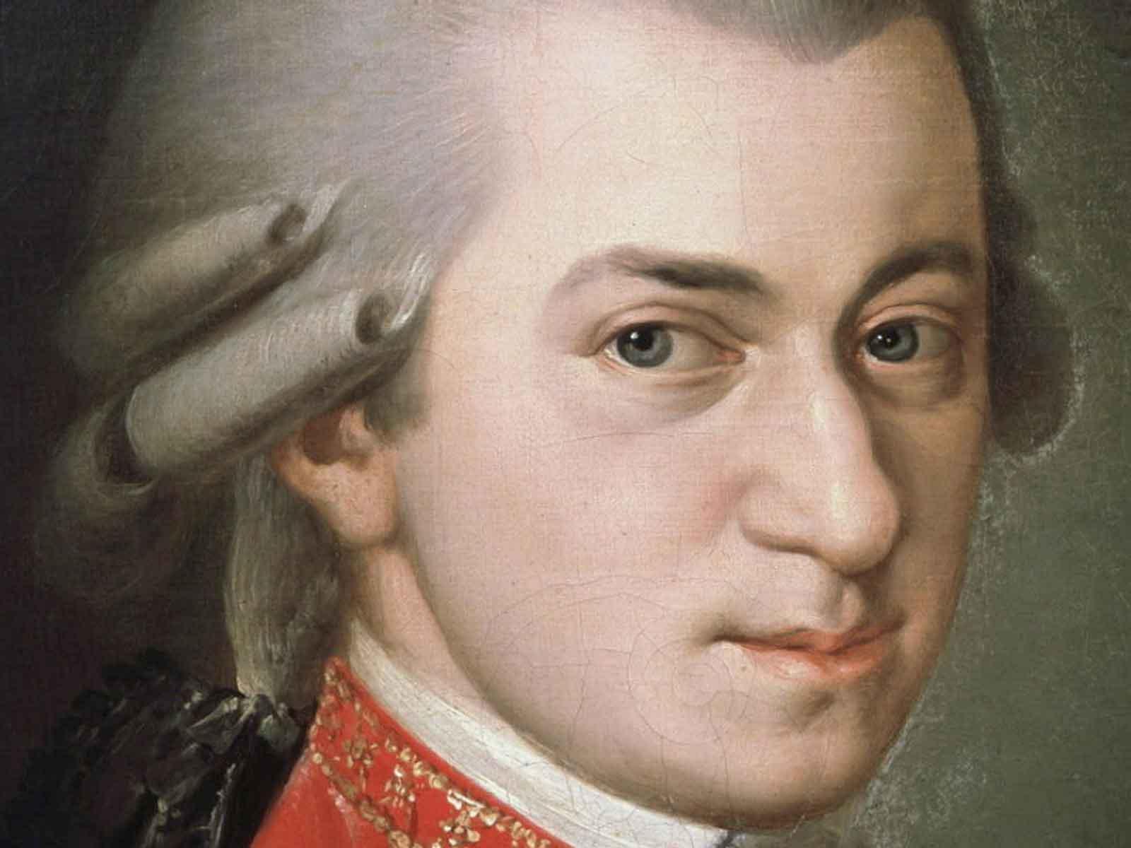 Portrait des Komponisten W. A. Mozart