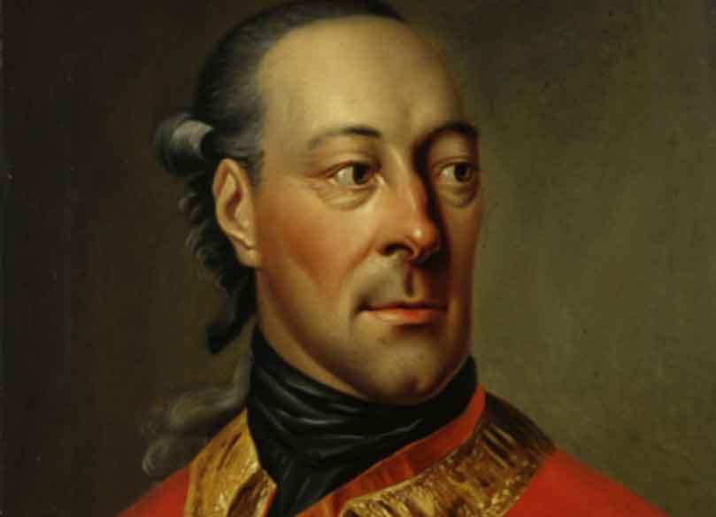 Portrait des Grafen Wilhelm zu Schaumburg-Lippe